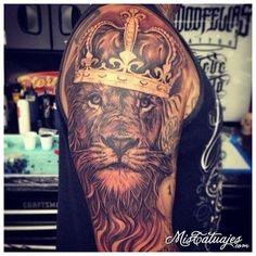 tatuajes de leones 11