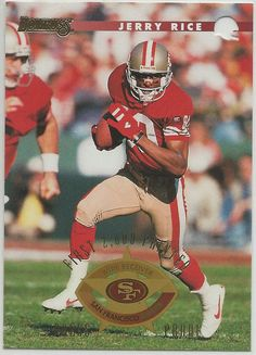 1996 Donruss Press Proofs Jerry Rice San Francisco 49ers