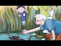 Jan Pieter krijgt bezoek - Digitaal prentenboek Children, School, Books, Anime, Short Stories, Young Children, Libros, Kids, Book