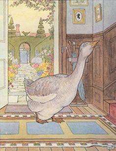 Goosey Goosey Gander  By L. Leslie Brooke . 1920s