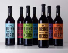 Buddy Mulled Wine Packaging Commands Festive Conduct #holiday #drinks trendhunter.com