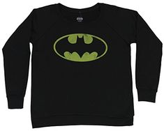 This black hooded #sweatshirt is perfect for fans of #Batman.