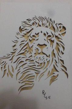 Email – terezinha Feliciana de Barros – Outlook Wood Carving Patterns, Stencil Patterns, Stencil Painting, Wood Crafts, Diy And Crafts, Motif Arabesque, Cnc Cutting Design, Laser Cut Panels, Lion Art