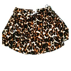 Animal Print Skater Skirt This ferocious skirt is available for sale. Size Large NWT. No stains or tears. Lovely is what it is. Grab on to this fast. Ambiance Apparel Skirts Circle & Skater