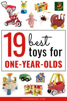 19 Best Toys For One Year Olds