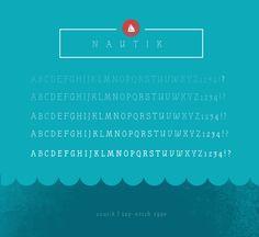 top-notch type // nautik // by henning skibbe // via emmadime