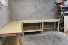 ... Workbenches, Basements Garages, Garages Workshop, Garage Workbench