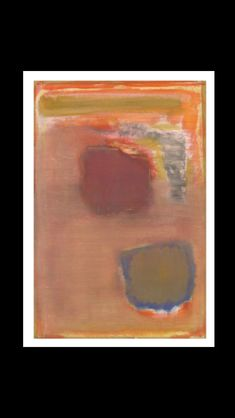 Mark Rothko - Untilted, 1949 - Watercolour on canvas - 104,1 x 60,2 cm - National Gallery of Art, Washington