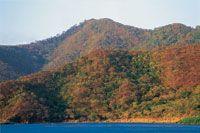 Sector de Neguange en el Parque Nacional Natural Tayrona en el mes de abril