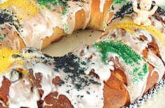 Mardi Gras King Cake — Punchfork