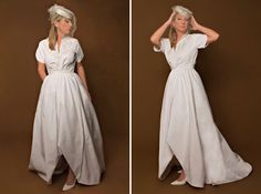 Abito del 1980 su ispirato anni 1950  1980s does 1950s Bridal Dress