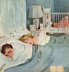 Saturday Evening Post Illustrated by Coby Whitmore 1940's