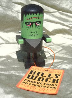 Popsie Frankenstein by Billy Wack Productions on Etsy, $29.95
