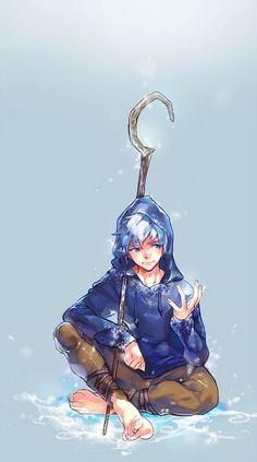 Jack Frost - Rise of the Guardians fanart Jake Frost, Jack Frost And Elsa, Jack Frost Anime, Rise Of The Guardians, Arte Disney, Disney Art, Disney Ships, Desenho Jack Frost, Jackson Overland