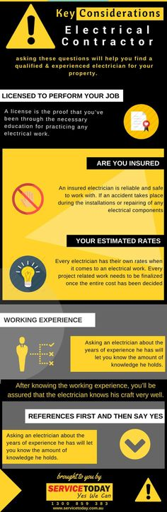 Infographic - How To Keep Your Home Safe From Electrical Hazards ...