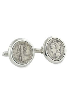 David Donahue Mercury Dime Cuff Links available at Nordstrom