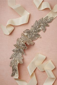 Abelia Sash in Shoes & Accessories Belts & Sashes at BHLDN