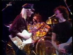"""My friend Bobby T on the drums!!!!!!!!!!!!!!!!!!!!!!!!!!!!!!!!!!!!!  johnny b good """"  johnny winter live at rockpalast 1979"""