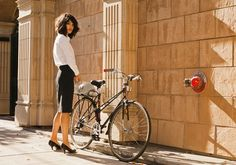 Startup dos EUA deixa ciclistas executivas na moda