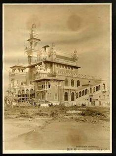 1919 - Palácio das Indústrias no atual Parque Dom Pedro II.