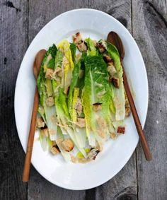 Eggless Caesar Dressing by apartmenttherapy #Salad_Dressing #Caesar #Egg_less
