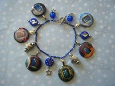 A Tardis for any occasion Doctor Who inspired by indieodyssey, $8.00 #DoctorWho #DrWho #Tardis #Indieodyssey #Etsy #charmbracelet