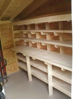 Amazing Shed Plans - Shed Workbench and Shelves Now You Can Build ANY Shed In A Weekend Even If You've Zero Woodworking Experience! Start building amazing sheds the easier way with a collection of shed plans! Storage Shed Organization, Storage Shed Plans, Garage Storage, Storage Ideas, Tool Storage, Workshop Organization, Small Storage, Storage Rack, Craft Shed
