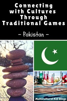 Kids will love learning these 5 traditional games from Pakistan.  Baraf Paani, Pitthu Garam, Cuppa Chuppi, Kabaddi, Oonch Neech.  Little or no materials are needed.