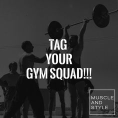 Tag all your gym buddies in the comments below    OUR NEW WEBSITE IS LAUNCHING SOON  Click the link in our bio to enter our SPECIAL LAUNCH COMPETITION!!