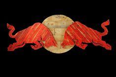 Redbull Logo, Red Bull F1, Wood Design, Modern Art, Broncos, Motocross, Desks, Draw, Tattoos