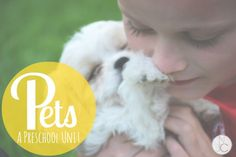 There's something special about a child and his pet!  This thematic unit is full of pet- themed ideas for activities to use in the classroom or at home.  The kids will love this!
