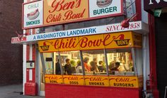 Ben's Chili Bowl | Since 1958 Travel Channel Chow DOwn Countdown   WASHINGTON DC