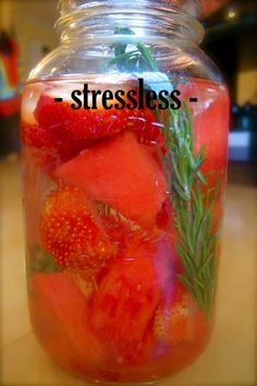 Stressless - This is my favourite combination, the blend of watermelon and rosemary is divine.  This vitamin water is ideal for helping you balance stress on a mental and physiological level.  With the addition of B vitamins, hydrating watermelon and calming rosemary this combination is best used during times of stress or intensity