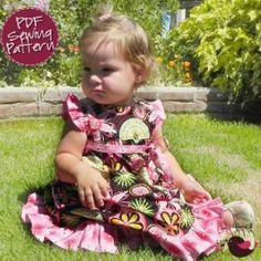 Birthday Party Dress | YouCanMakeThis.com