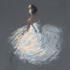 Found it at Wayfair.co.uk - Tutu Painting Print on Canvas