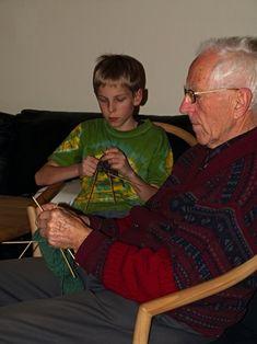 Men Who Knit