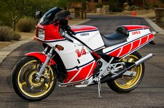 Yamaha RZ 500 - v4 2-stroke. The closest we ever got to a 500cc GP bike for the street