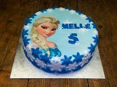 Frozen taart – Elsa