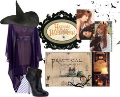 """""""Halloween is comming // Practical Magic"""" by bellamasencullen ❤ liked on Polyvore"""