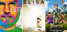 ¿Qué vemos esta semana? Nuestros #estrenos: 'Jobs', 'Para Elisa' y 'Justin y la espada del valor'.  #Cine