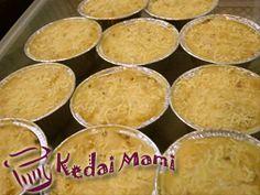 Macaroni Cup  (aluminium foil ukuran ø9cm x tinggi 4cm, Berat ± 125gr)  *** minimum order 12pcs