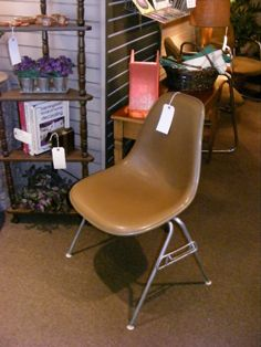 Eames for Herman Miller Perfectly Pleather Stacker! Now at Retro!