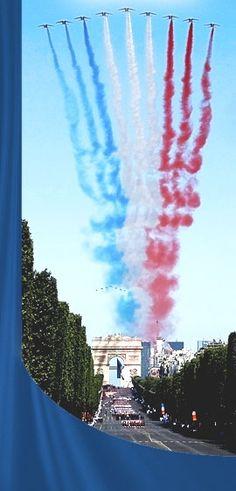 Défilé du 14 Juillet - fête nationale du 14 juillet @ Champs Elysées - Paris, 75008