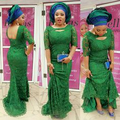 We know you are all acquainted with what Aso Ebi is, why and when it is worn. We are not going to bore you with all those details at all…