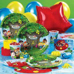 Maybe Little Einsteins 2nd birthday party for Liv?