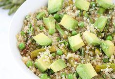 Spring Quinoa Salad #detox #recipes http://greatist.com/health/new-year-detox-recipes