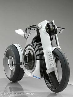 Honda Oree Electric Motorcycle | http://sportcarsaz.blogspot.com