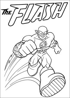 Tegninger Til Farvelaegning Super Friends 21 Heros Superhero Coloring Pages
