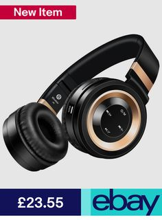 Foldable Wireless Bluetooth Headphone Headset Stereo Bass Earphone With FM Bluetooth Headphones, Beats Headphones, Over Ear Headphones, Headset, Consumer Electronics, Ebay, Products, Headphones, Headpieces