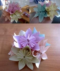 Květina z papíru